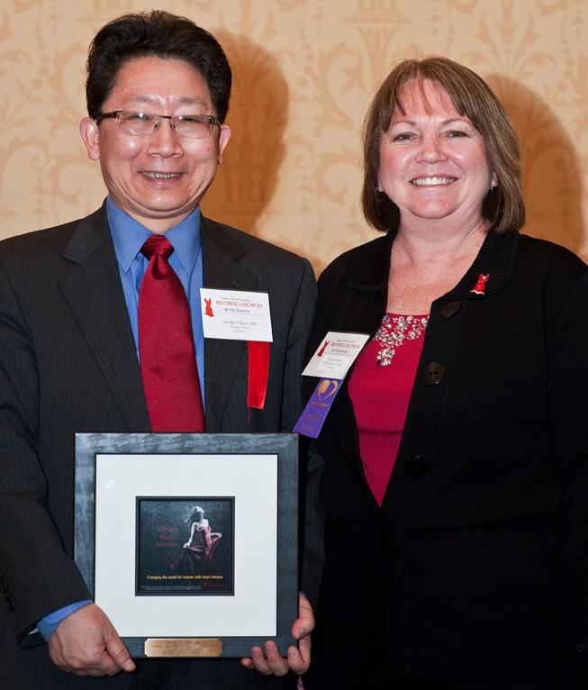 Women's Heart Advocate Joseph Shen