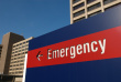 picture of emergency room sign