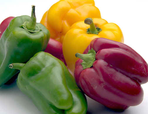 picture of green peppers